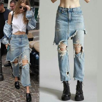 cropped distressed